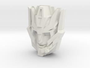 Rodimus (IDW), w' comm (Titans Return) in White Natural Versatile Plastic