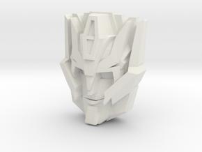 Rodimus (IDW), smirking (Titans Return) in White Natural Versatile Plastic