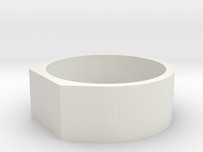 Anello Troco 3 in White Natural Versatile Plastic