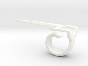 P-Aimer Pokemon Go Aimer in White Processed Versatile Plastic