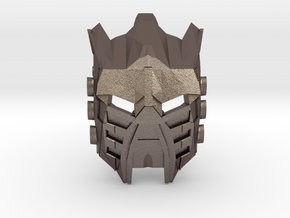 Movie Edition: Mask Of Light in Polished Bronzed Silver Steel
