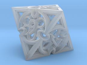 Gothic Rosette Die8 in Smooth Fine Detail Plastic