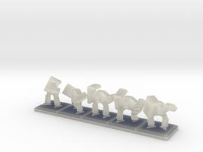 TA ARM Rocko Squad - 1cm tall in Transparent Acrylic