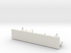 TA ARM Warrior Squad - 1cm tall in White Natural Versatile Plastic
