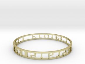 Model-03ceefdec431c2c71328c0ee496663f6 in 18k Gold Plated Brass