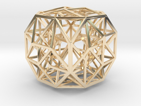 The Cosmic Cube in 14K Yellow Gold