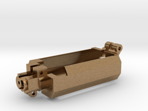 CAM14EBR AEG Motor Brace Reinforcement  in Natural Brass