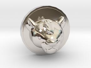 Milo Cufflink in Platinum