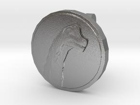 Sauroposeidon Cufflink in Natural Silver