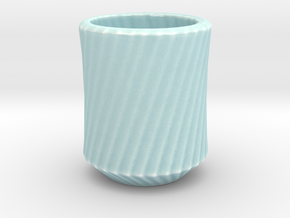 Simplecurve Cup in Gloss Celadon Green Porcelain