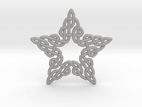 0511 Celtic Knotting - Star Grid [5] in Aluminum