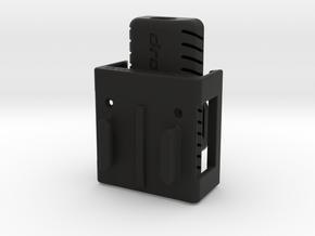 Inspire 1 Montage Clips | FPV FatShark Sender in Black Natural Versatile Plastic