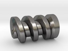 TM02 Gripper Worm Gear in Polished Nickel Steel