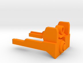 NERF MODULUS REAR SIGHT in Orange Processed Versatile Plastic