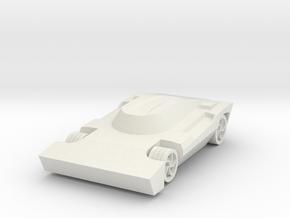 Rocket League - Breakout Car in White Natural Versatile Plastic
