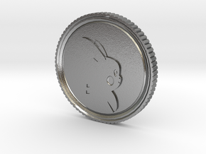 PokeCoin in Natural Silver