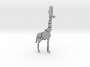 Giraffe Pendant in Aluminum