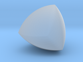 Meissner tetrahedron - Type 2 in Smooth Fine Detail Plastic