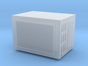 O Scale Ac Unit in Frosted Extreme Detail