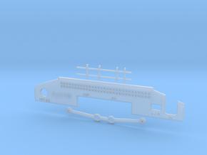 Jaguar White Case Kit - Full RF Modulator in Smooth Fine Detail Plastic