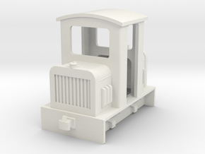 009 small centercab diesel fit HM01 chassis  in White Natural Versatile Plastic