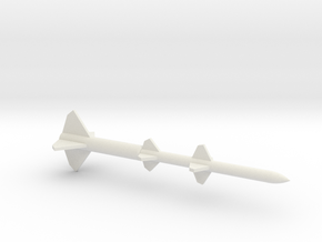 1/144 Scale Terrier BW Missile in White Natural Versatile Plastic