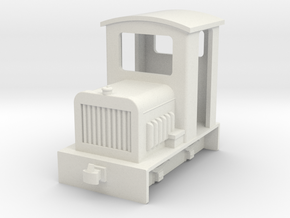 009 small diesel 1 fit HM01 chassis in White Natural Versatile Plastic