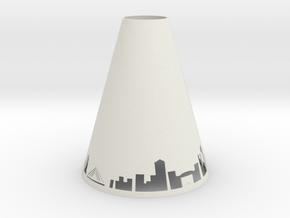 Pendant Light Boston in White Natural Versatile Plastic