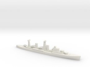 PLAN Chong Qing Missile Cruiser, 1/2400 in White Natural Versatile Plastic