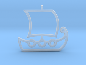 Ship No.1 in Smooth Fine Detail Plastic