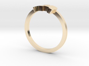 Elephant Ring in 14K Gold