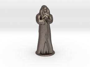 Anubus 35 mm scale in Polished Bronzed Silver Steel