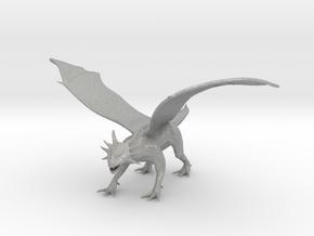 Hunting Dragon in Aluminum
