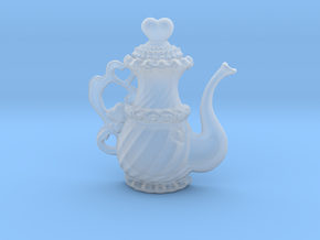 TeaPot 09 00 2016 in Smooth Fine Detail Plastic