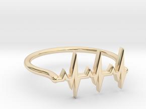 Vital ring in 14K Yellow Gold