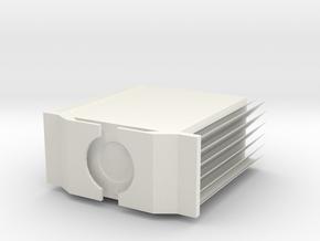 Pass X250 (10% scale) in White Natural Versatile Plastic
