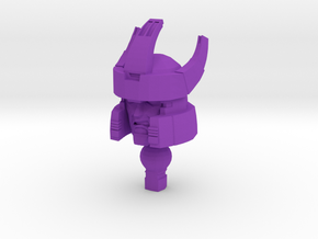Galvatron Tyrant Titan Master Head in Purple Strong & Flexible Polished