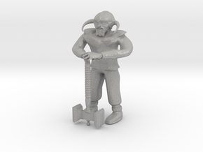 Dwarf1 in Raw Aluminum