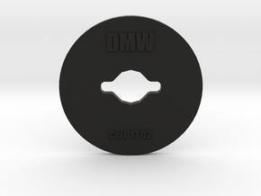Clay Extruder Die: Coil 017 02 in Black Natural Versatile Plastic