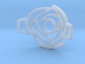Rose Bracelet in Smooth Fine Detail Plastic