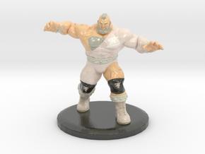 Zangief (Street Fighter V Fan Art) in Glossy Full Color Sandstone