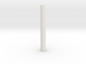 just a cylinder in White Strong & Flexible