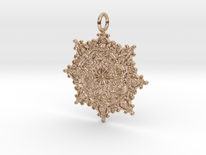 Classian Pendantian in 14k Rose Gold Plated