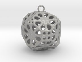 Christmas Bauble No.3 in Aluminum