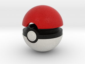 Pokeball (Standard) in Full Color Sandstone