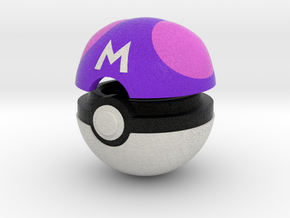 Pokeball (Master) in Full Color Sandstone