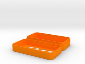 RK-003 Enclosure in Orange Processed Versatile Plastic