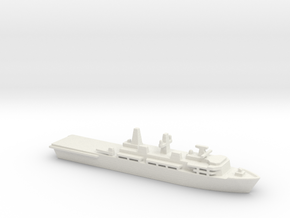 Albion-class LPD, 1/2400 in White Natural Versatile Plastic