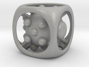 Dice No.1 L (balanced) (3.6cm/1.42in) in Aluminum