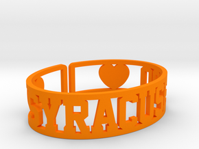 Syracuse '20 Cuff in Orange Processed Versatile Plastic